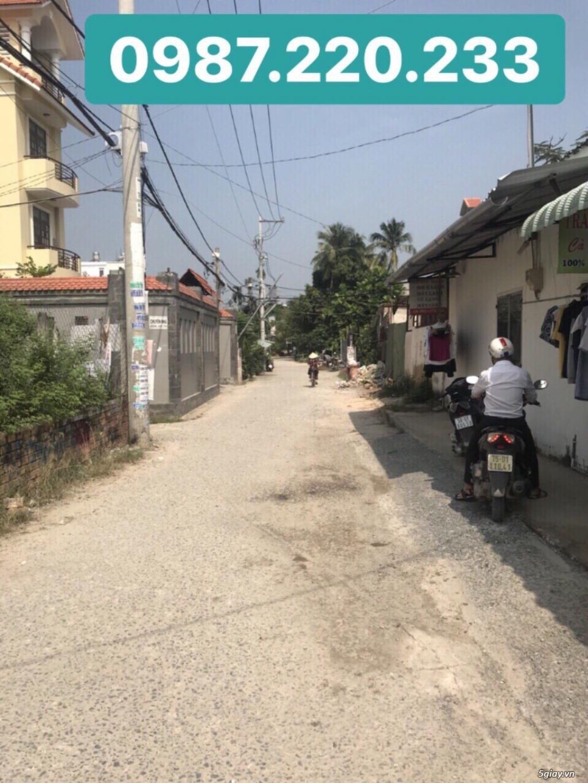 Bán đất 2 MT  (Thạnh Lộc 19). DT:(17 x 22)m.Chợ Cầu Đồng. Giá: 10 Tỷ - 1