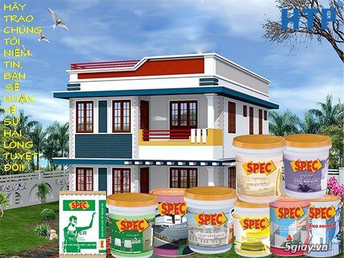 Cửa hàng sơn nước Spec giá rẻ từ nhà máy tại HCM