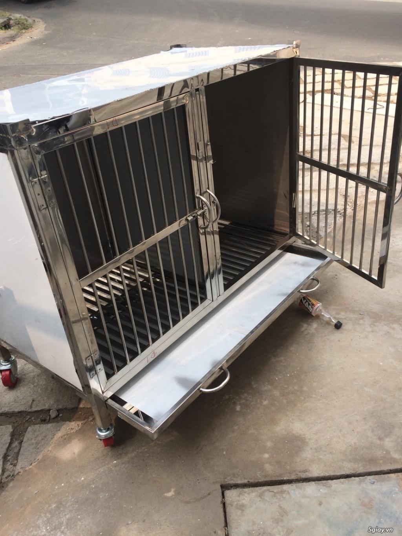 Nhận đặt chuồng chó theo yêu cầu - 11