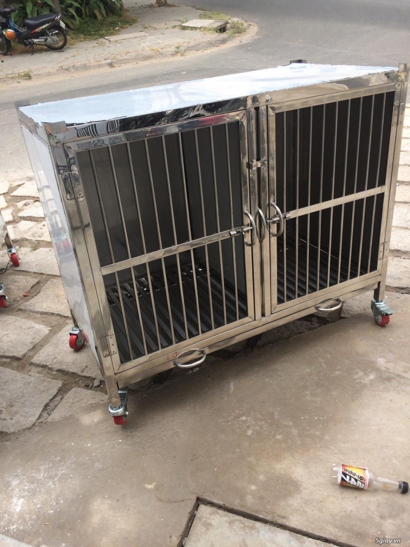 Nhận đặt chuồng chó theo yêu cầu - 16