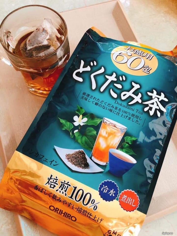 Trà diếp cá hỗ trợ thải độc Dokudami Orihiro 60 gói