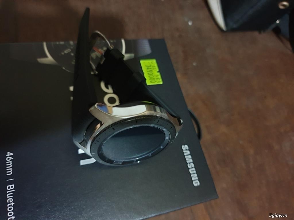 Samsung Galaxy Watch 46mm mới Fullbox bảo hành 12 tháng