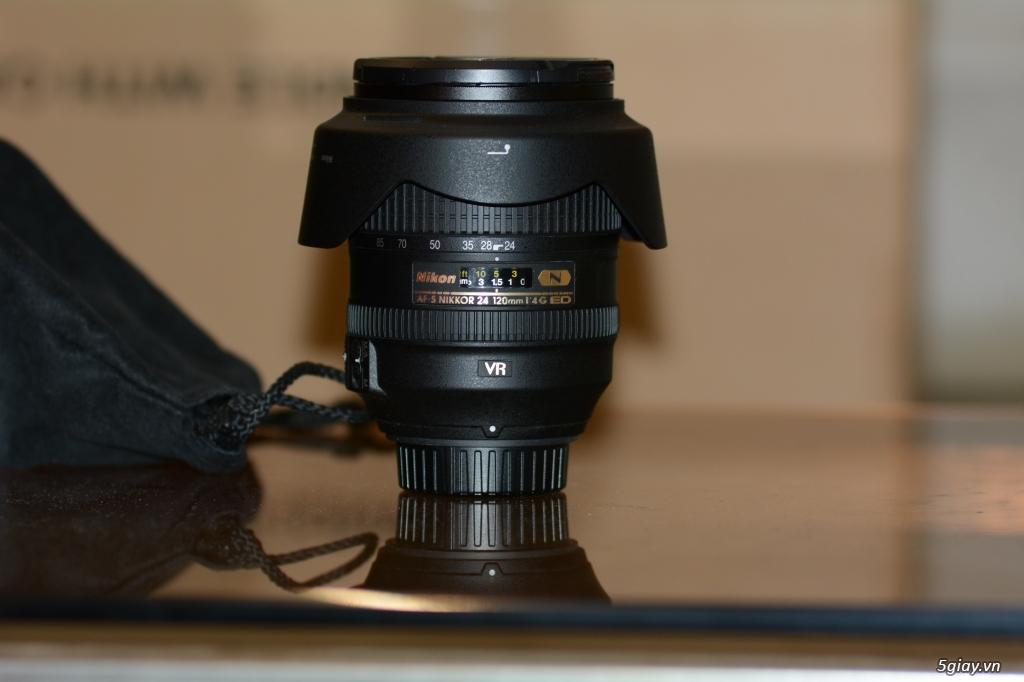 Bán len Nikon AF-S NIKKOR 24-120mm f/4G ED VR Nano.
