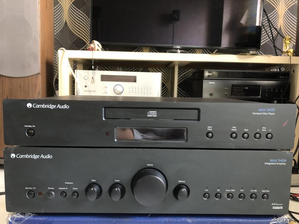 Ampli, CD, receiver, loa, subwoofer, center, surround các loại... - 10