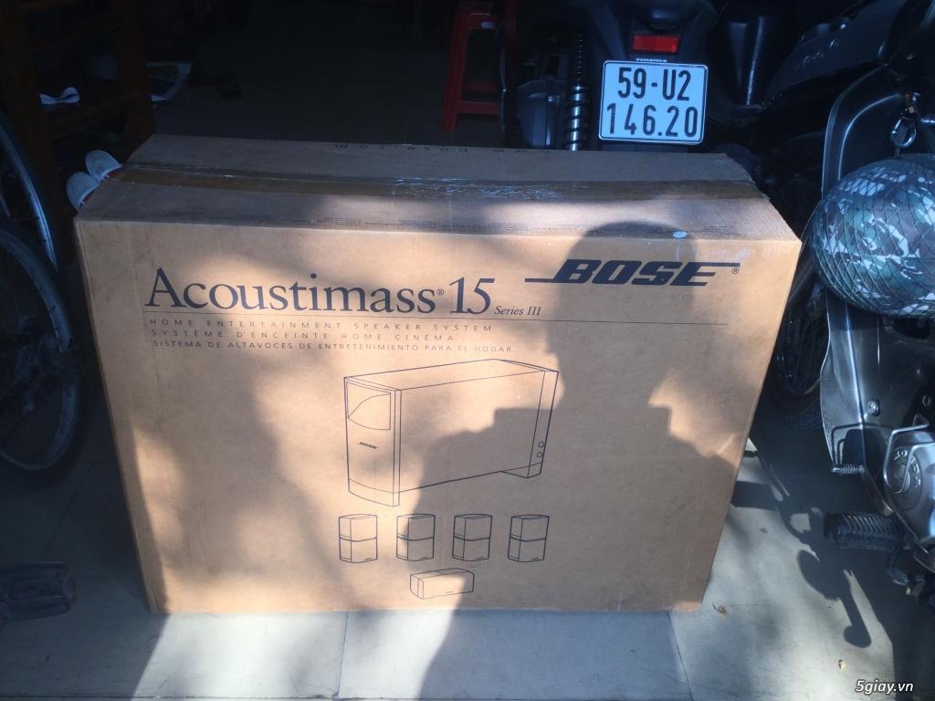 Bose Acoustimas 15 series III , hàng chính hãng, trùm mềm chủ yếu.... - 1