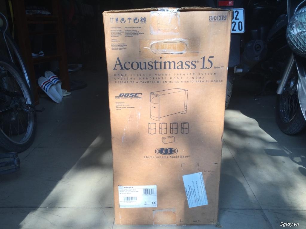 Bose Acoustimas 15 series III , hàng chính hãng, trùm mềm chủ yếu....