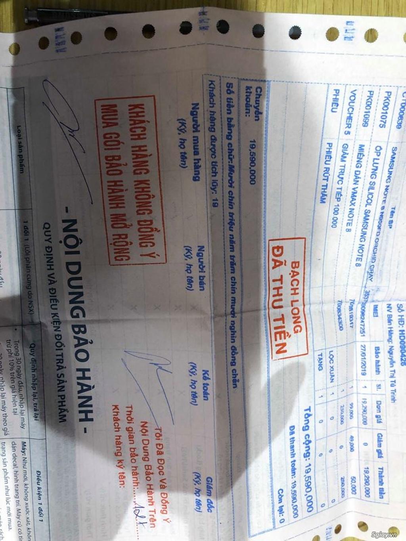 Bán SamSung Note 8 -64gb -99.9%( hàng mới nữ dùng dư bán) 11.5tr - 4