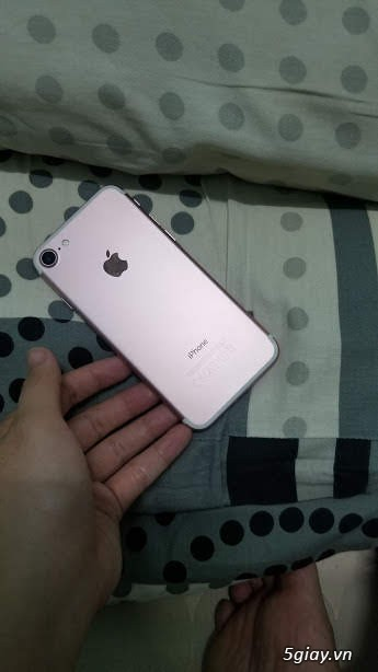 IPHONE 7 GOLD ROSE 32GB QUỐC TẾ
