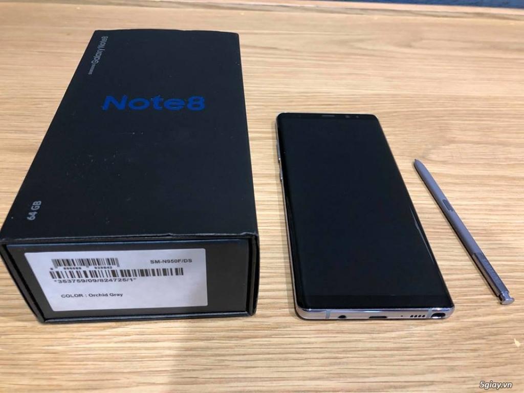 Bán SamSung Note 8 -64gb -99.9%( hàng mới nữ dùng dư bán) 11.5tr - 2