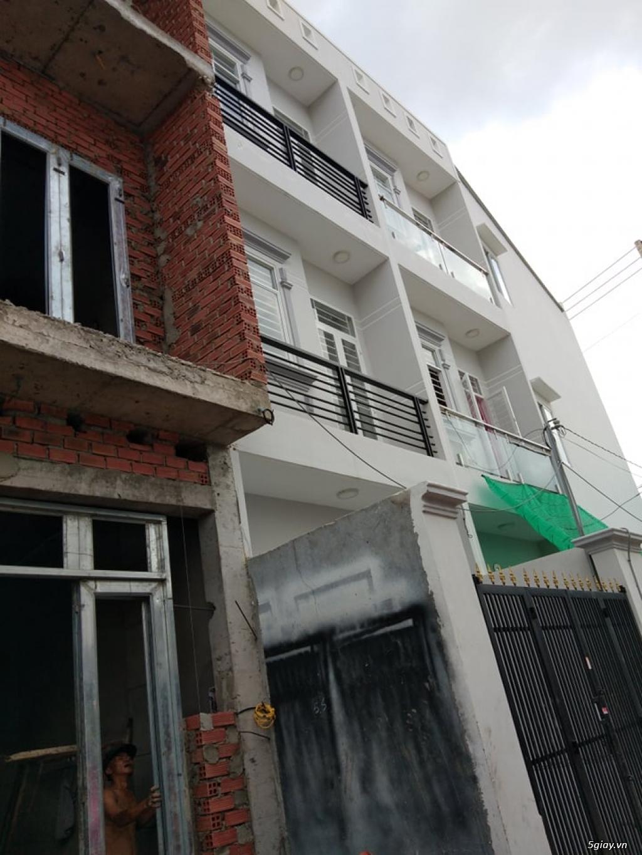 Bán nhà phố xây mới, Lê Văn Lương, xã Nhơn Đức, Nhà Bè, dt 3.5x13m hxh - 1
