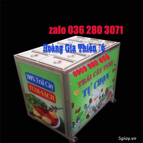 Xe bán 15 loại trái cây giá rẻ tại bình thạnh- hàng có sẵn