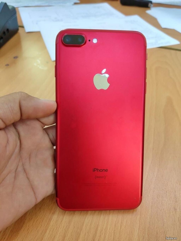 iPhone 7 Plus màu đỏ Zin, Đẹp, Full Box Giá Cực Tốt ở HCM - 4