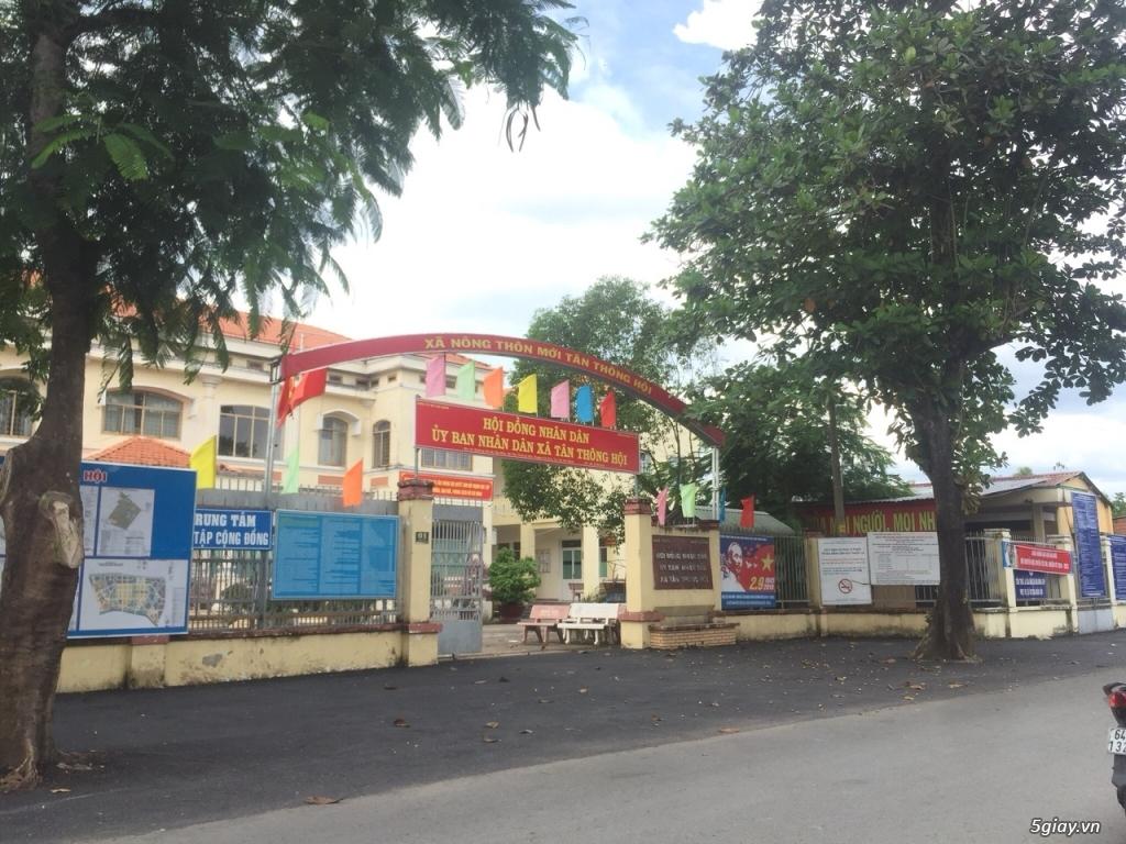 Cần bán gấp lô đất đã có sổ xã Tân Thông Hội huyện Củ Chi
