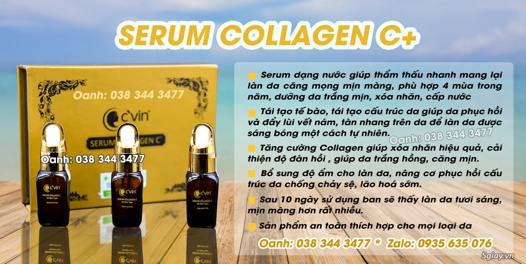 Serum collagen c'vin