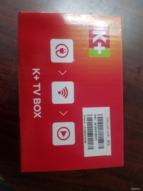 Khuyến Mãi Đầu thu K+TV box - 2