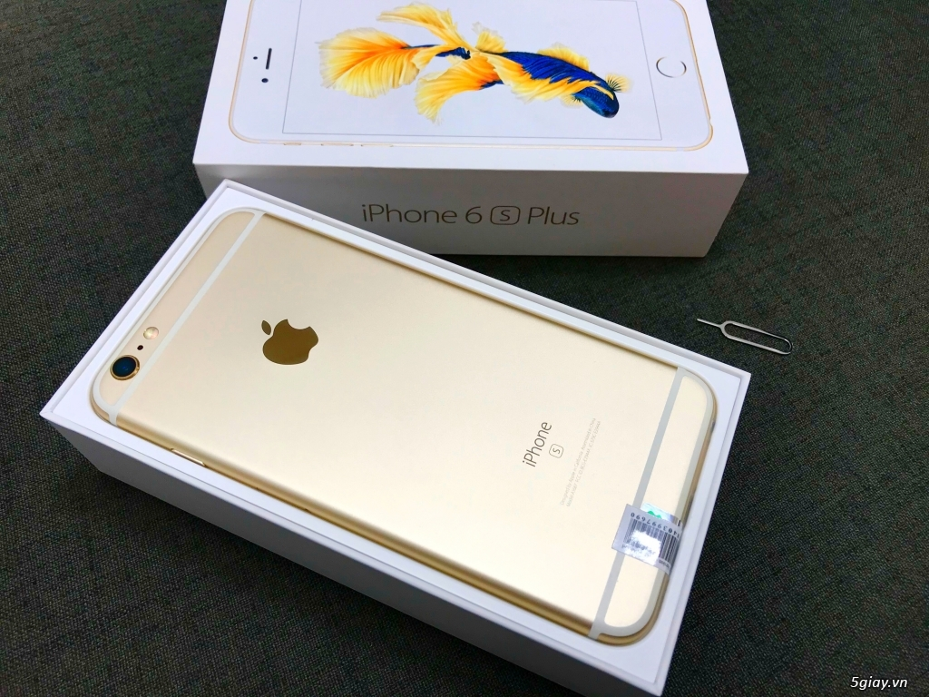 Về ít máy iPhone 6S Plus 64GB Gold - Máy ZIN Đẹp Giá Lại Hot