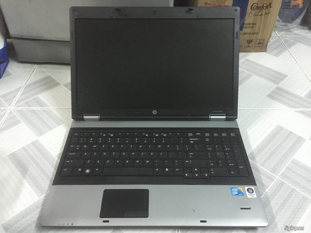 Hp Probook 6550b core i7 ram 4g hdd 250g 15.6in có phím số xách tay us - 1