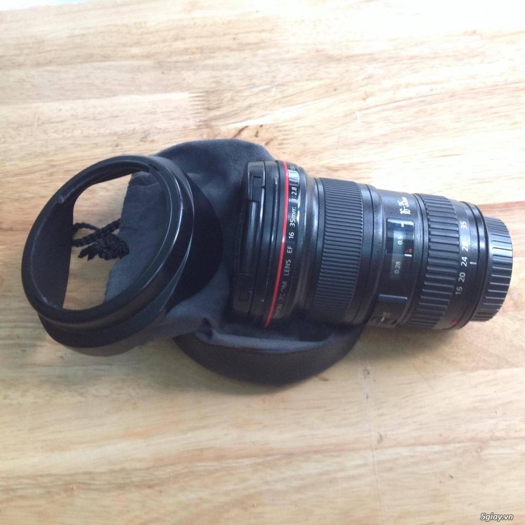 Cần bán: Ống kính Canon EF 16-35mm f/2.8L II USM - 2