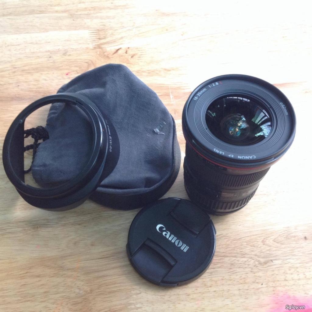 Cần bán: Ống kính Canon EF 16-35mm f/2.8L II USM - 1