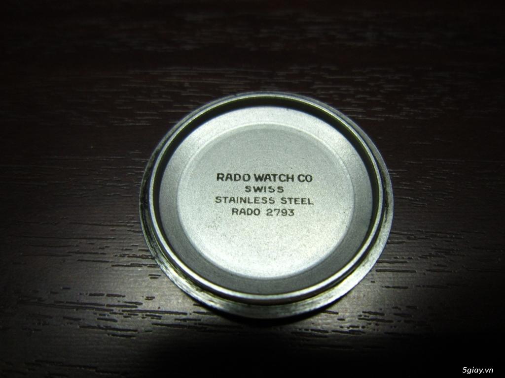 Bán Rado Balboa V nam, máy SWISS mặt đá tím, zin đẹp, giá tốt !