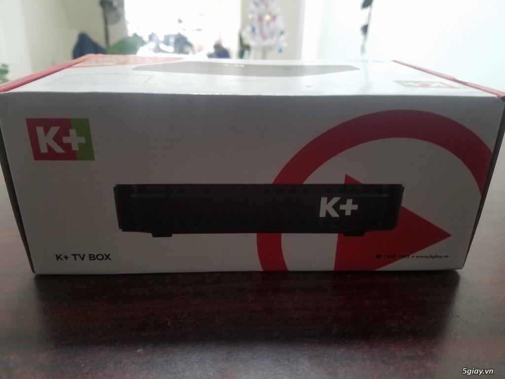 Khuyến Mãi Đầu thu K+TV box