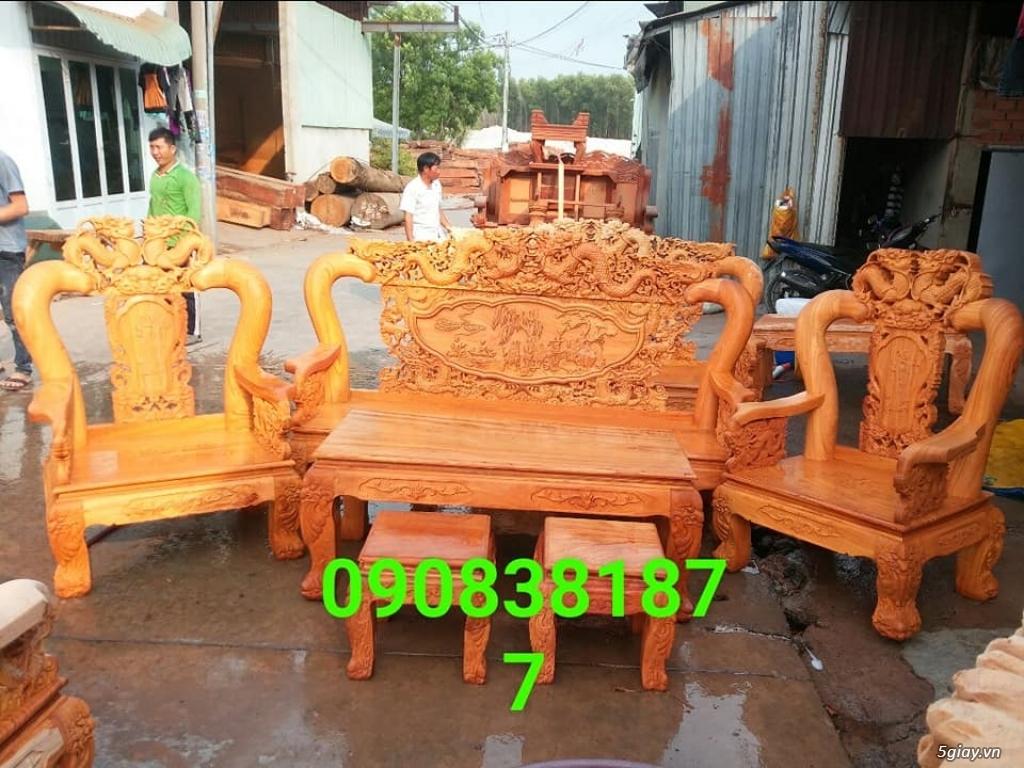salon phòng khách gỗ quý giá cực rẻ ( xem hàng tại xưởng ) - 22