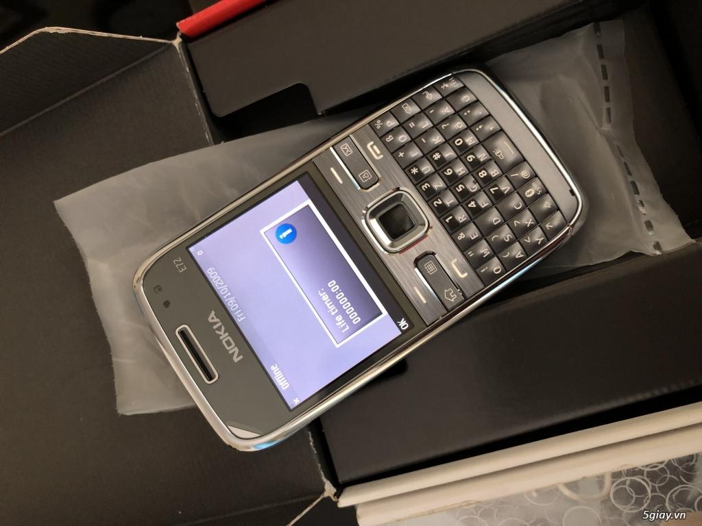 Siêu phẩm : Nokia E72 Grey T- Mobile Germany new nguyên hộp chưa sd - 17