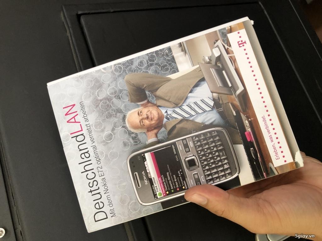 Siêu phẩm : Nokia E72 Grey T- Mobile Germany new nguyên hộp chưa sd - 27