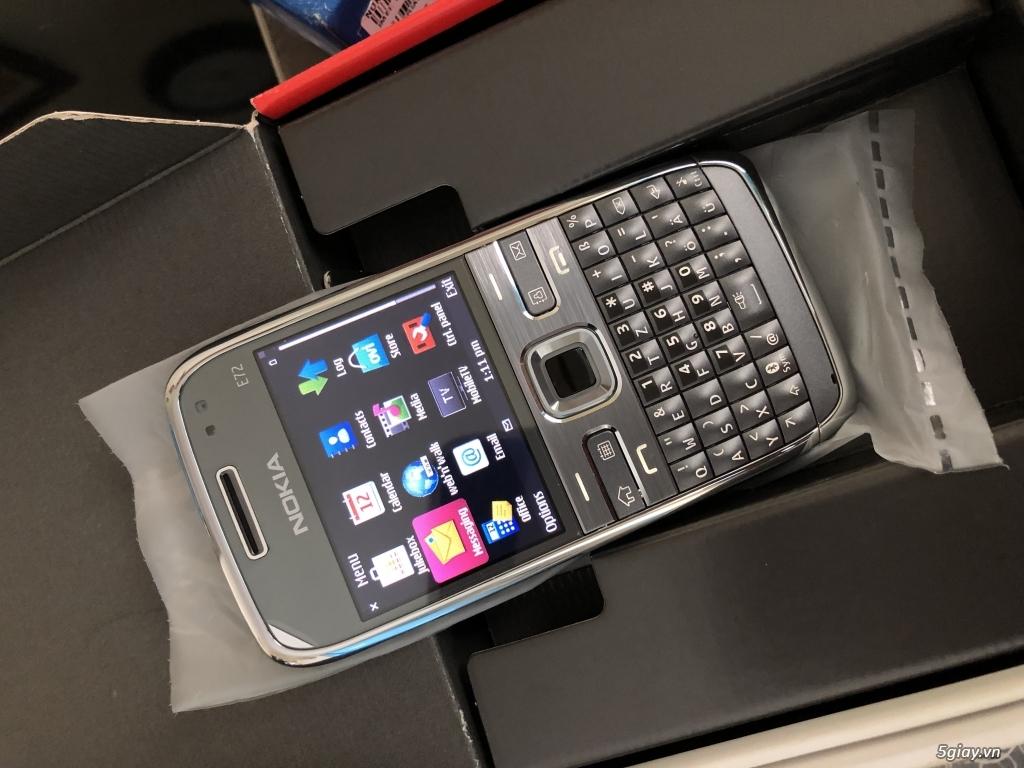 Siêu phẩm : Nokia E72 Grey T- Mobile Germany new nguyên hộp chưa sd - 19