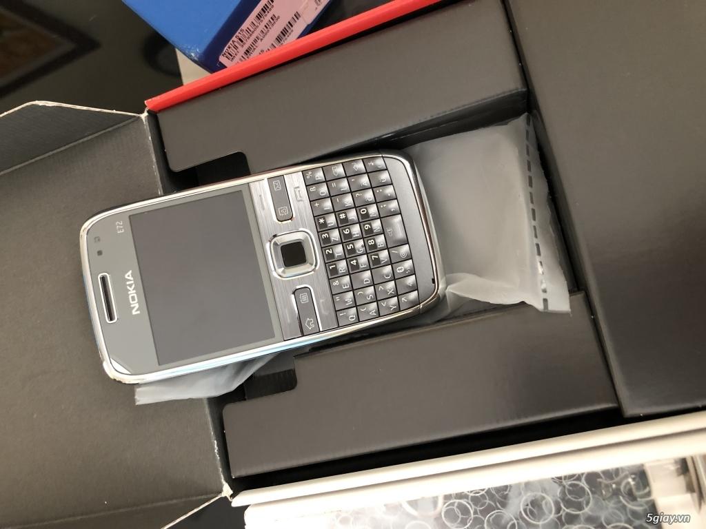 Siêu phẩm : Nokia E72 Grey T- Mobile Germany new nguyên hộp chưa sd - 3