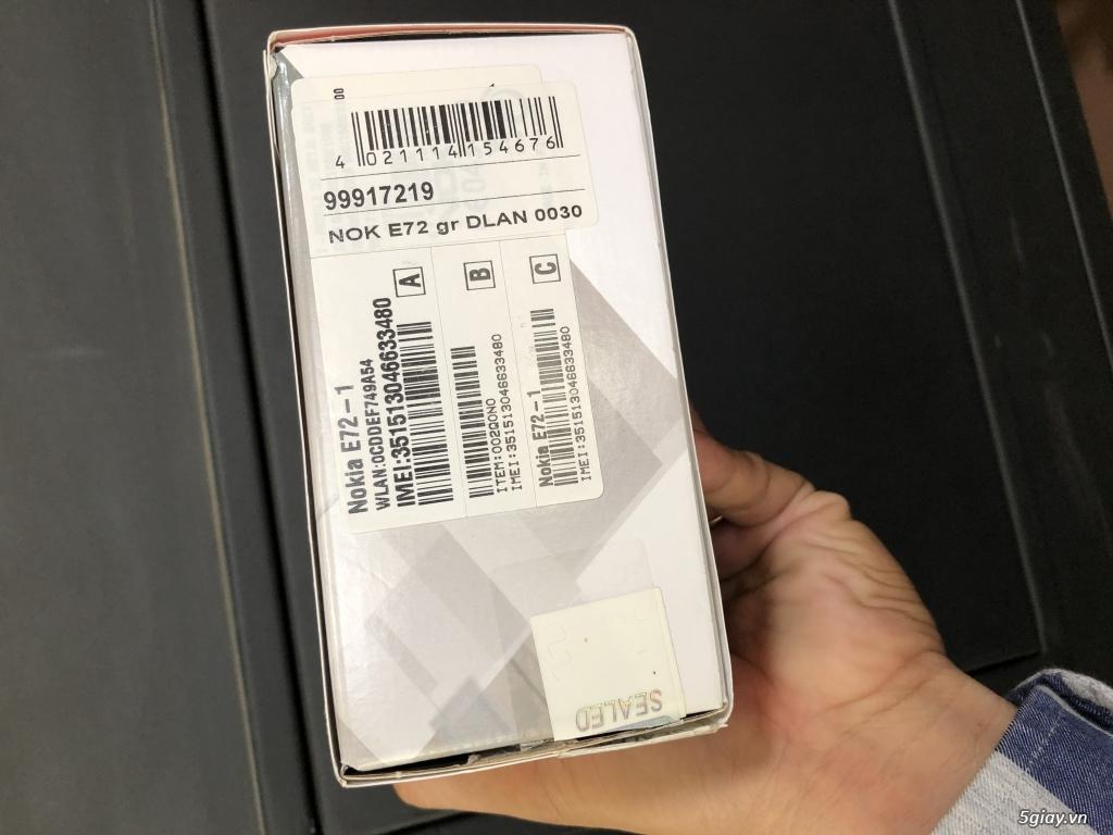 Siêu phẩm : Nokia E72 Grey T- Mobile Germany new nguyên hộp chưa sd - 25