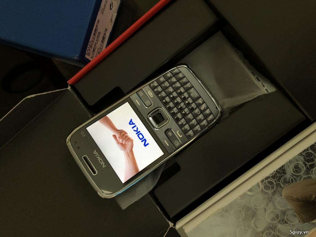 Siêu phẩm : Nokia E72 Grey T- Mobile Germany new nguyên hộp chưa sd - 9