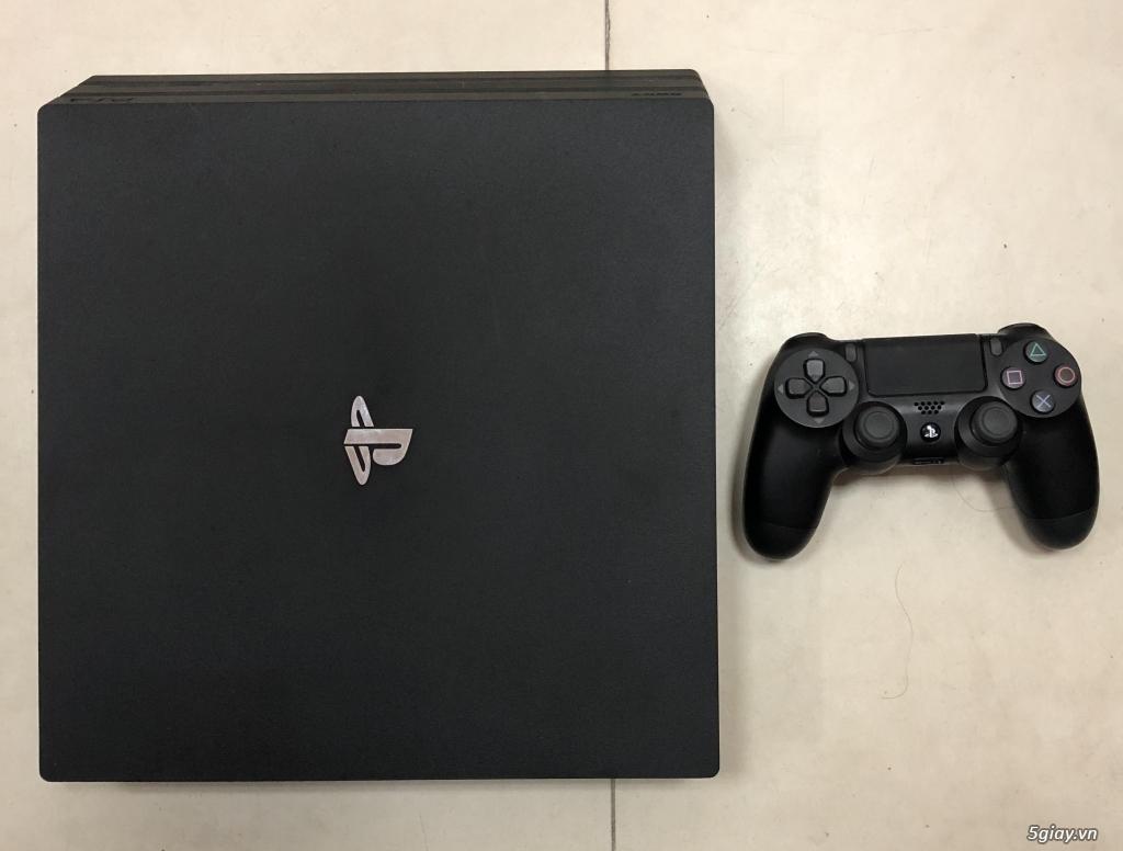 Máy game PS4 Pro full box mới 98%