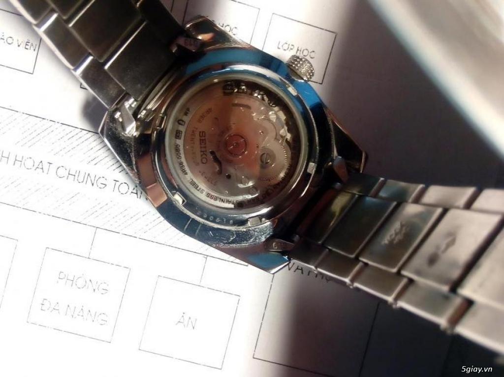 Đồng hồ Seiko 5 sport chính hãng - 4