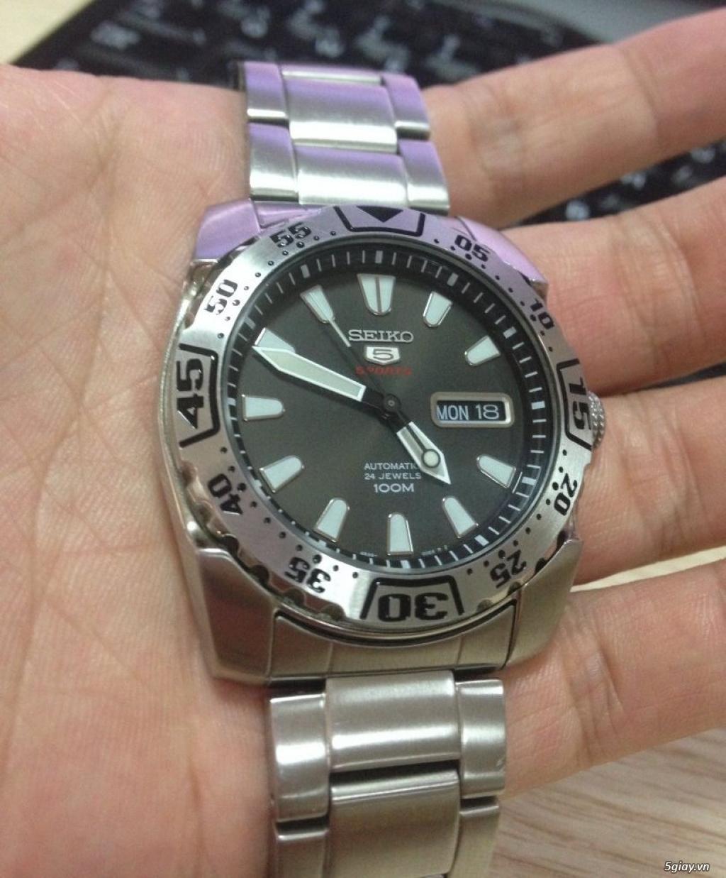 Đồng hồ Seiko 5 sport chính hãng