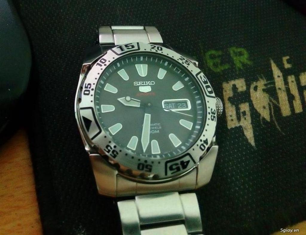 Đồng hồ Seiko 5 sport chính hãng - 2