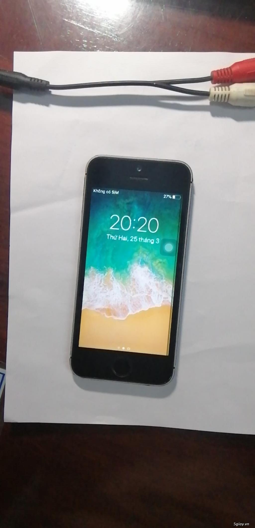 Bán iphone 5s quốc tế cũ - 4