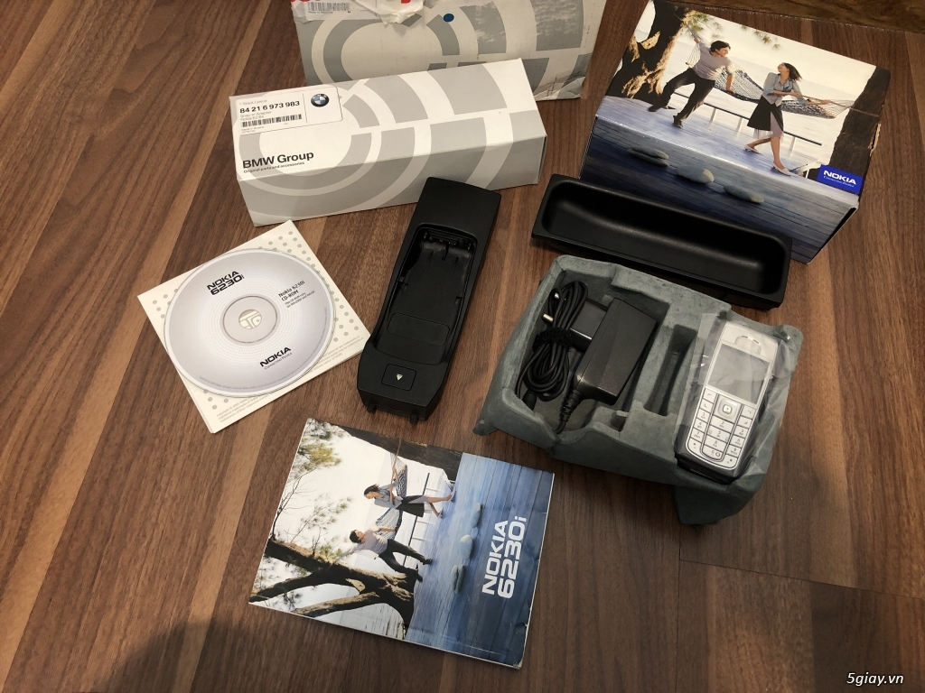 Nokia 6230i dòng tặng kegm Bmw thị trường Germany,nguyên hộp,full kits - 27