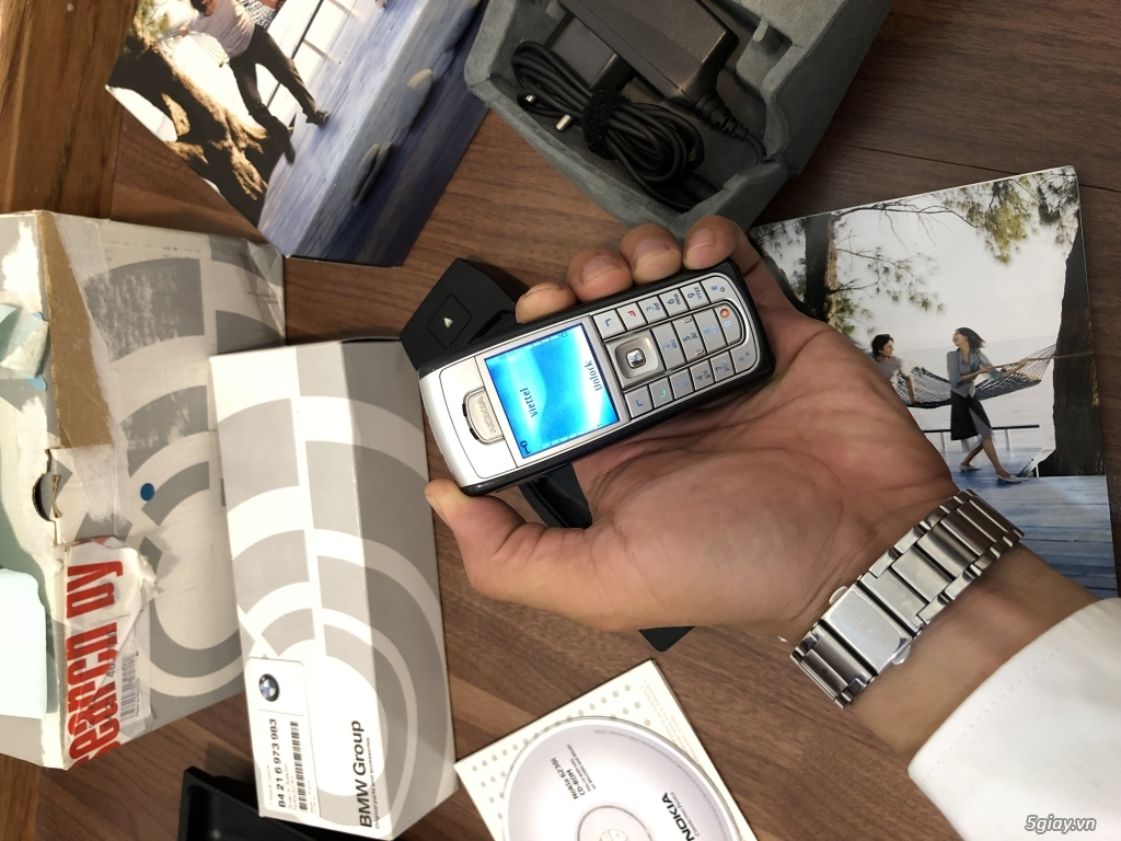 Nokia 6230i dòng tặng kegm Bmw thị trường Germany,nguyên hộp,full kits - 15