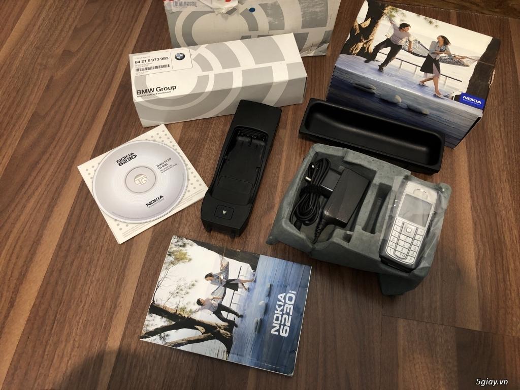 Nokia 6230i dòng tặng kegm Bmw thị trường Germany,nguyên hộp,full kits - 3