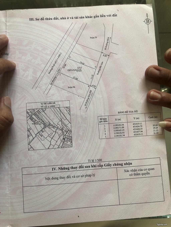 Chính chủ cần bán lô đất 216m2 đường Bắc Sơn, P11, Tp. Vũng Tàu. - 1