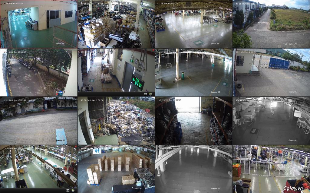 Trộn bộ 4 camera 1080p Hikvission giá rẻ - 10