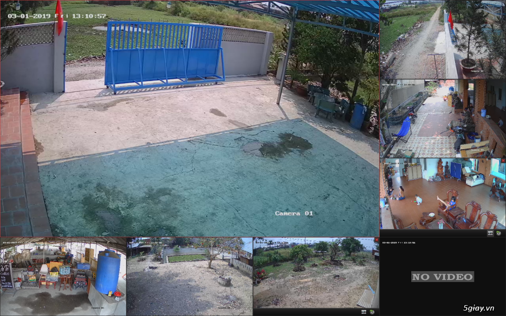 Trộn bộ 4 camera 1080p Hikvission giá rẻ - 9