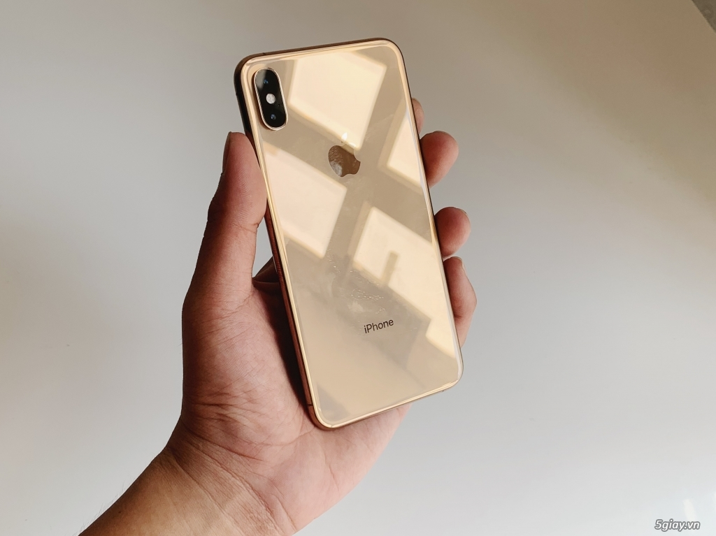 IPHONE XS MAX GOLD 256GB - LIKE NEW 99.99% - BH APPLE 10/2019