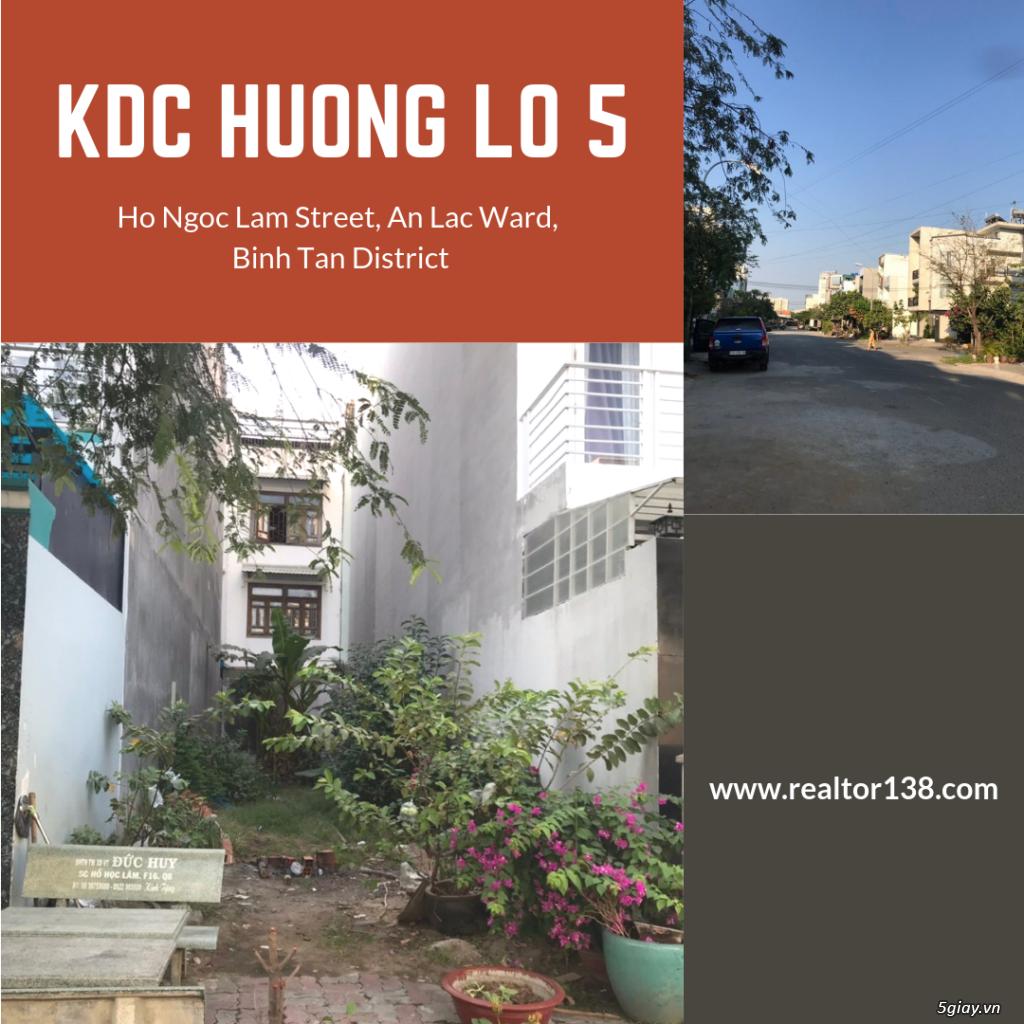 Đất nền khu dân cư Hương Lộ 5 Bình Tân/80m2