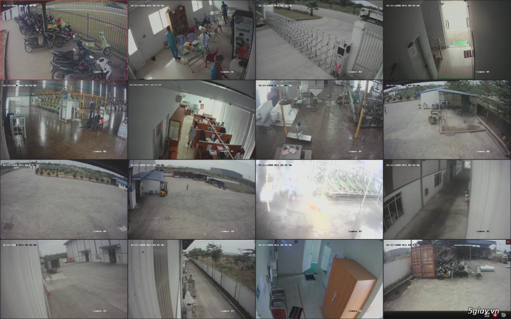 Trộn bộ 4 camera 1080p Hikvission giá rẻ - 7