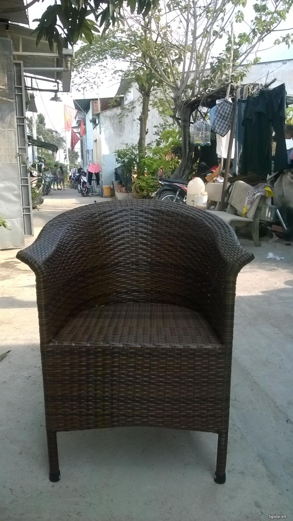 Dịch vụ sữa chữa mua bán bành ghế nhựa giả mây giá rẻ thành phố hồ chí - 9