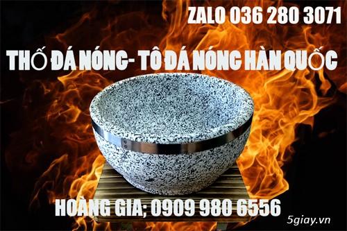 Bán tô đá, thố đá nóng Hàn Quốc 18cm làm cơm trộn, giá rẻ