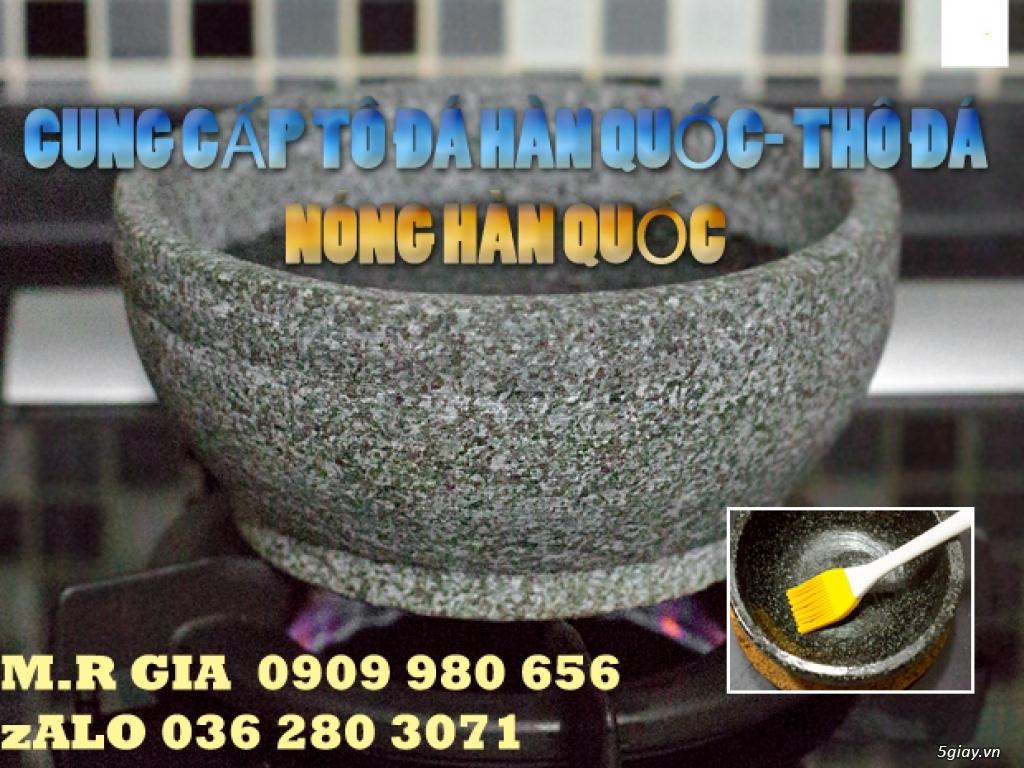 Bán tô đá, thố đá nóng Hàn Quốc 18cm làm cơm trộn, giá rẻ - 2