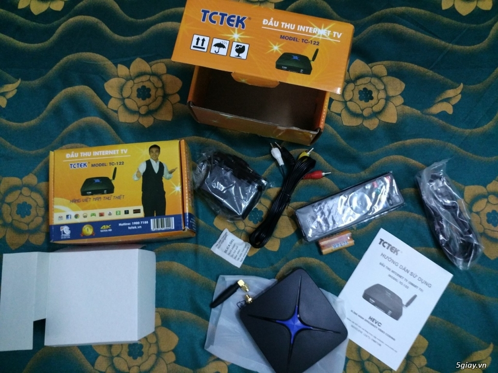 Thanh lý đầu thu Android box TC-122 - 2